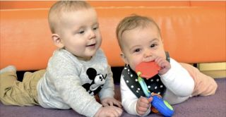 Babygroep in kindcentrum BergOp